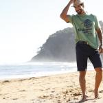 Beto am Strand mit Hut