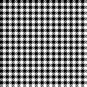 Seamless Hounds-Tooth Check Pattern