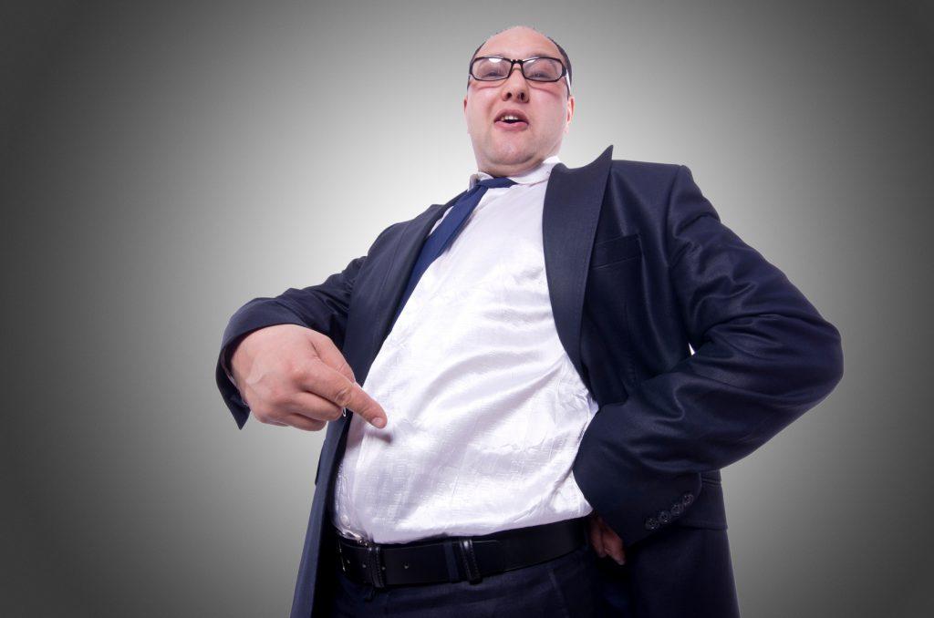 Anzug fur mann mit bauch