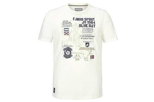 T-Shirt Frühlingsoutfit Große Größen Männermode