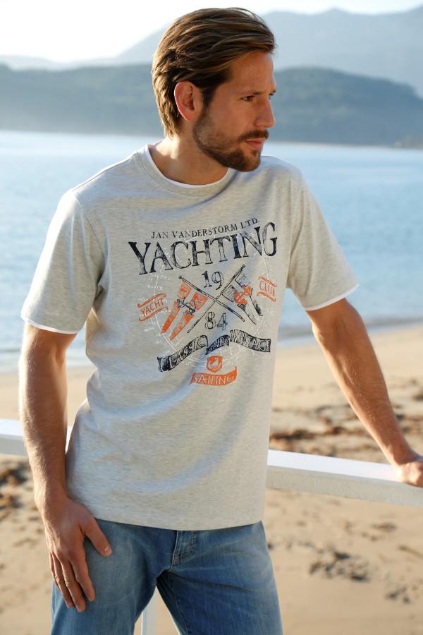 T-Shirt FELICIAN Große Größen Männer See