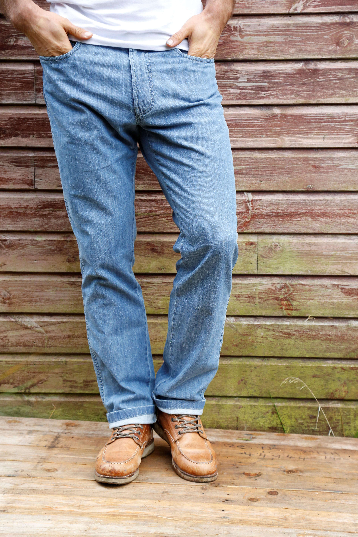 Jeans Männer Mode Große Größen