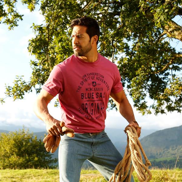 T-Shirt Männer Mode Große Größe